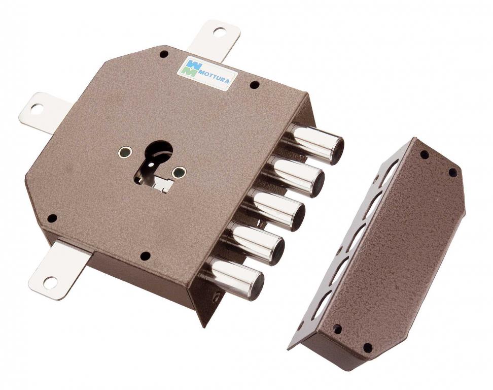 serratura sicurezza mottura quintupla x cilindro europeo